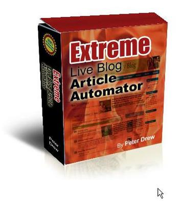 Product picture Extreme Live Blog Article Automator