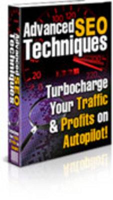 Product picture Advance SEO Techniques