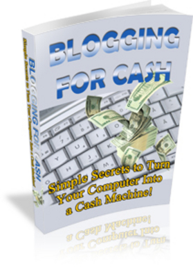 Product picture Blogging for Cash